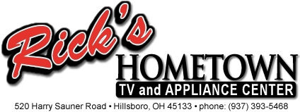 Rick's Hometown Tv & Appliance Logo